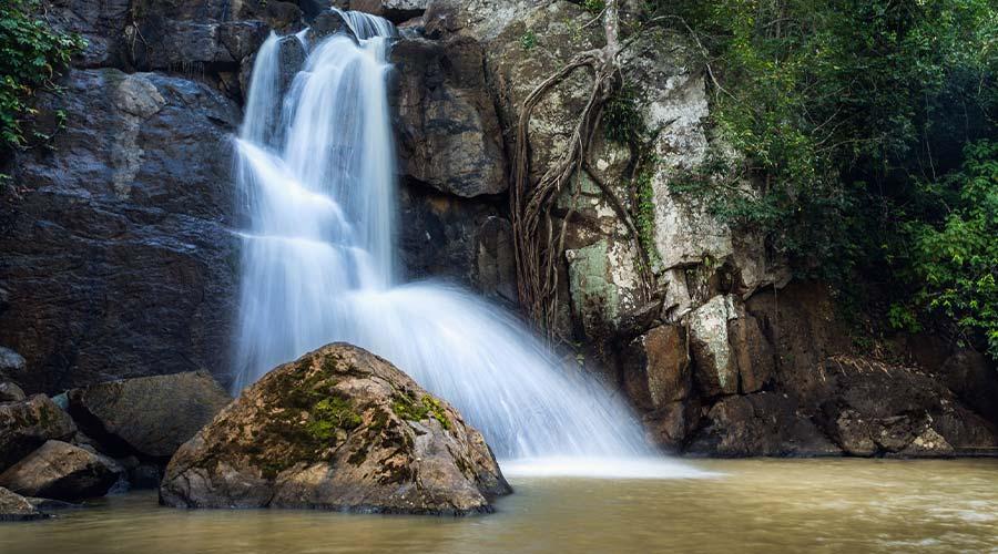 Beautiful Midubanda Waterfalls